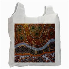 Aboriginal Traditional Pattern Recycle Bag (Two Side)