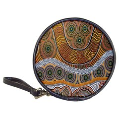 Aboriginal Traditional Pattern Classic 20-CD Wallets