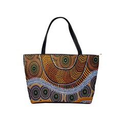 Aboriginal Traditional Pattern Shoulder Handbags
