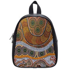 Aboriginal Traditional Pattern School Bags (Small)