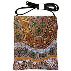 Aboriginal Traditional Pattern Shoulder Sling Bags