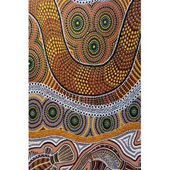 Aboriginal Traditional Pattern 5.5  x 8.5  Notebooks