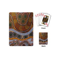 Aboriginal Traditional Pattern Playing Cards (Mini)