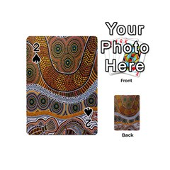 Aboriginal Traditional Pattern Playing Cards 54 (Mini)