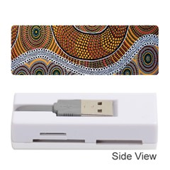 Aboriginal Traditional Pattern Memory Card Reader (Stick)