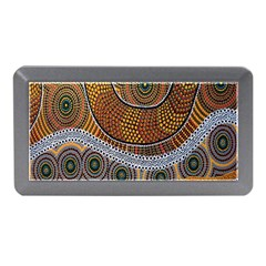 Aboriginal Traditional Pattern Memory Card Reader (Mini)