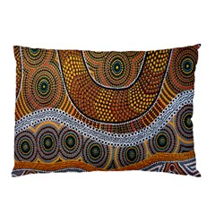 Aboriginal Traditional Pattern Pillow Case (Two Sides)