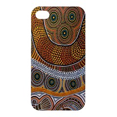 Aboriginal Traditional Pattern Apple iPhone 4/4S Hardshell Case