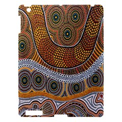 Aboriginal Traditional Pattern Apple iPad 3/4 Hardshell Case