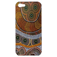 Aboriginal Traditional Pattern Apple iPhone 5 Hardshell Case