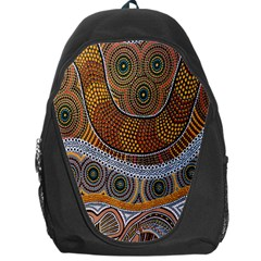 Aboriginal Traditional Pattern Backpack Bag
