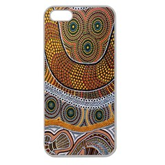 Aboriginal Traditional Pattern Apple Seamless iPhone 5 Case (Clear)