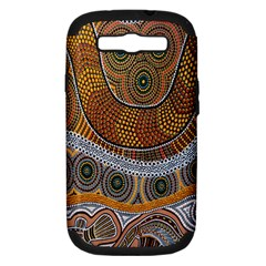 Aboriginal Traditional Pattern Samsung Galaxy S III Hardshell Case (PC+Silicone)