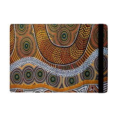Aboriginal Traditional Pattern Apple iPad Mini Flip Case