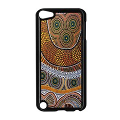 Aboriginal Traditional Pattern Apple iPod Touch 5 Case (Black)