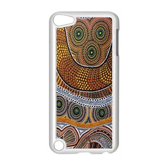 Aboriginal Traditional Pattern Apple iPod Touch 5 Case (White)
