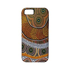 Aboriginal Traditional Pattern Apple iPhone 5 Classic Hardshell Case (PC+Silicone)