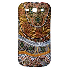 Aboriginal Traditional Pattern Samsung Galaxy S3 S III Classic Hardshell Back Case