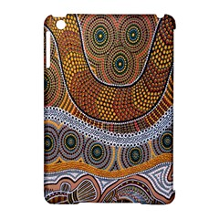 Aboriginal Traditional Pattern Apple iPad Mini Hardshell Case (Compatible with Smart Cover)