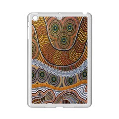 Aboriginal Traditional Pattern iPad Mini 2 Enamel Coated Cases