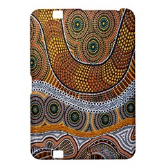 Aboriginal Traditional Pattern Kindle Fire HD 8.9