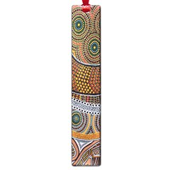 Aboriginal Traditional Pattern Large Book Marks