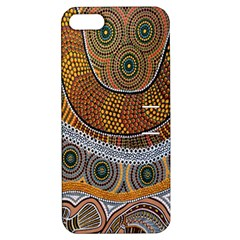 Aboriginal Traditional Pattern Apple iPhone 5 Hardshell Case with Stand