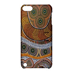 Aboriginal Traditional Pattern Apple iPod Touch 5 Hardshell Case with Stand