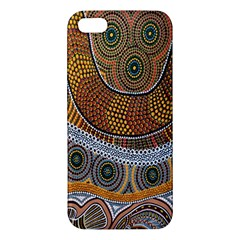 Aboriginal Traditional Pattern Apple iPhone 5 Premium Hardshell Case