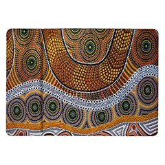 Aboriginal Traditional Pattern Samsung Galaxy Tab 10.1  P7500 Flip Case