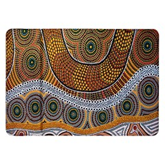 Aboriginal Traditional Pattern Samsung Galaxy Tab 8.9  P7300 Flip Case