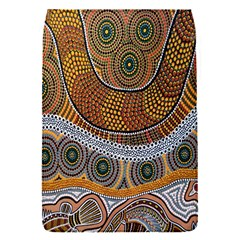 Aboriginal Traditional Pattern Flap Covers (S)