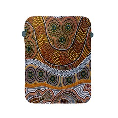 Aboriginal Traditional Pattern Apple iPad 2/3/4 Protective Soft Cases