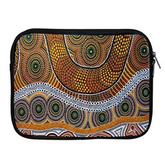 Aboriginal Traditional Pattern Apple iPad 2/3/4 Zipper Cases
