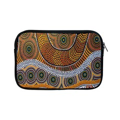 Aboriginal Traditional Pattern Apple iPad Mini Zipper Cases