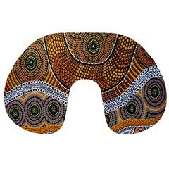 Aboriginal Traditional Pattern Travel Neck Pillows