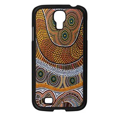 Aboriginal Traditional Pattern Samsung Galaxy S4 I9500/ I9505 Case (Black)