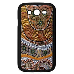 Aboriginal Traditional Pattern Samsung Galaxy Grand DUOS I9082 Case (Black)