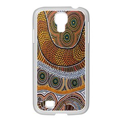 Aboriginal Traditional Pattern Samsung GALAXY S4 I9500/ I9505 Case (White)
