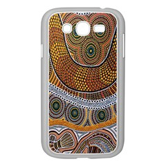 Aboriginal Traditional Pattern Samsung Galaxy Grand DUOS I9082 Case (White)