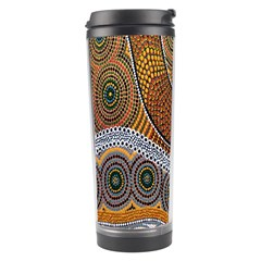 Aboriginal Traditional Pattern Travel Tumbler