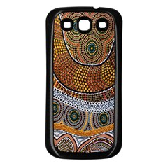 Aboriginal Traditional Pattern Samsung Galaxy S3 Back Case (black)