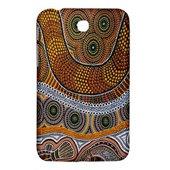 Aboriginal Traditional Pattern Samsung Galaxy Tab 3 (7 ) P3200 Hardshell Case
