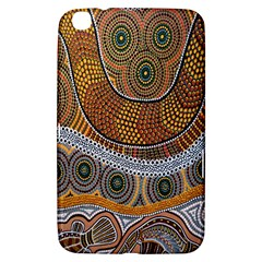 Aboriginal Traditional Pattern Samsung Galaxy Tab 3 (8 ) T3100 Hardshell Case