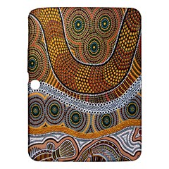 Aboriginal Traditional Pattern Samsung Galaxy Tab 3 (10.1 ) P5200 Hardshell Case