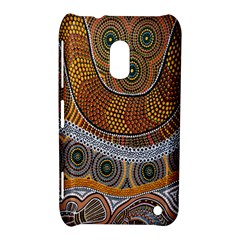 Aboriginal Traditional Pattern Nokia Lumia 620