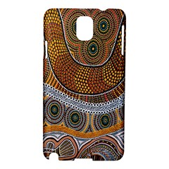 Aboriginal Traditional Pattern Samsung Galaxy Note 3 N9005 Hardshell Case