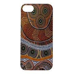 Aboriginal Traditional Pattern Apple iPhone 5S/ SE Hardshell Case