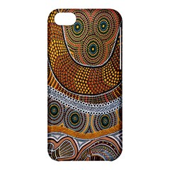 Aboriginal Traditional Pattern Apple iPhone 5C Hardshell Case