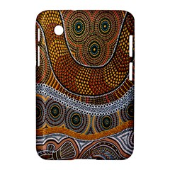 Aboriginal Traditional Pattern Samsung Galaxy Tab 2 (7 ) P3100 Hardshell Case